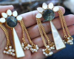 Unique and Custom Curated Hand Made Earrings  RT-192