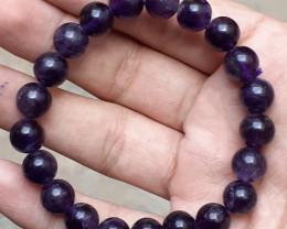 133.15 Carats Natural Amethyst Bracelet