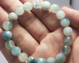 138.75 Carats Natural Aquamarin Bracelet