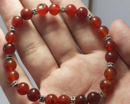 90.65 Carats Natural Agate Bracelet