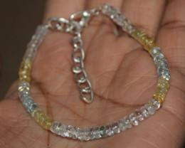 21 Crt Natural Multi Aquamarine Beads 27