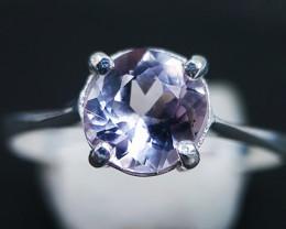 Natural Pink Kunzite 925 Silver Ring 8.65 Carats