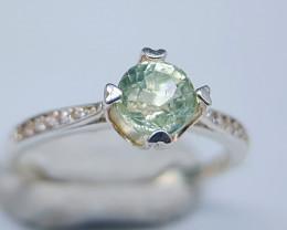 Natural Aquamarine 925 Silver Ring 9.15 Carats