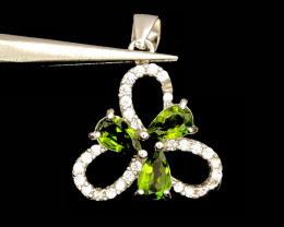 No Reserve~Beautiful~Diopside~Pendant~7.20ct