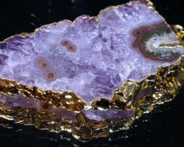 61.50-Cts URUGUAY AMETHYST STALACTITE PENDANT  SJ-1283 simplyjewelery