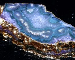 55-Cts URUGUAY AMETHYST STALACTITE PENDANT  SJ-1292 simplyjewelery
