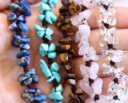 Popular bracelets deal 5 Gemstone Bracelets CH 1192