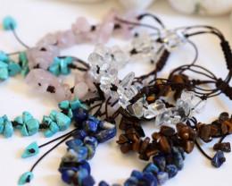 Popular bracelets deal 5 Gemstone Bracelets CH 1194
