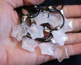 Wholesale 12 pieces Crystal Pentagram Pendants code CH 1205