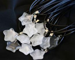 Wholesale 12 pieces Crystal Pentagram Pendants code CH 1206