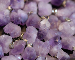 Wholesale 10 pieces Amethyst Termimated point  Pendants code CH 1217