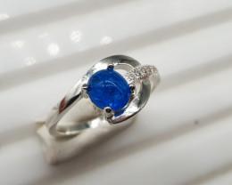 Natural Apatite Ring | 13.20 Carats Ring | 925 Silver Ring | Natural Apatit