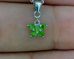 No Reserve~Attractive~Diopside~Necklace~9.0cts