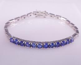Amazing Natural Tanzanite Gems Bracelet