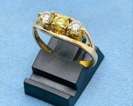 18k Gold | Daimond Gold Ring | For Women