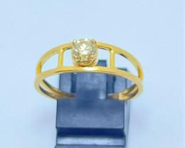 18k Natural Daimond Gold Ring
