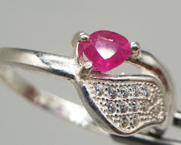 Natural Ruby Ring   Women Ring   925 Silver Ring   Natural Ring 13.85 Carat