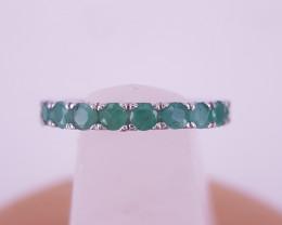 Beautiful Natural Emerald Gems Ring