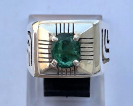 Amazing 80.05 crt Natural Emerald Ring