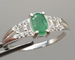 Natural Emrald Ring | 925 Silver Ring | 10.50 carats Natural Emrald Ring