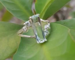 Natural Aquamarine Gems Ring