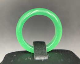 Elegant Natural Treated Type-B Jadeite Ring. Jdr-797