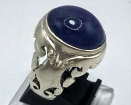 Astonishing Tanzanite Ring | Classical Design|  Hand Made Ring
