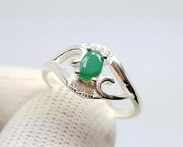 Stunning Emerald Ring 14.40 Cts