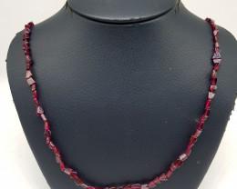 Natural Almandine Garnet 59.50 Carats Necklace