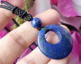 Natural Lapis Lazuli Handmade Pendant 100% Natural Unheated