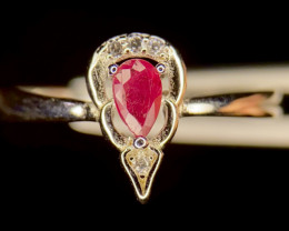 No Reserve~Gorgeous~Ruby~Ring