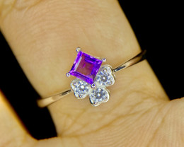 No Reserve~Gorgeous~Amethyst~Ring