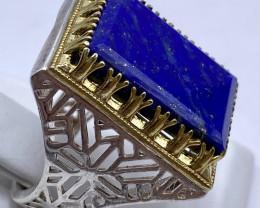 Beautiful Design Lapis Lazuli Ring
