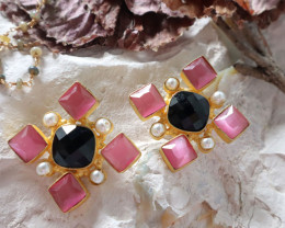 Unique and Custom Curated Hand Made Earrings  RT-333
