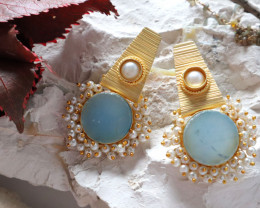Unique and Custom Curated Hand Made Earrings  RT-344