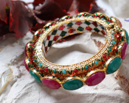 Unique and Custom Curated Hand Made Bangle  RT-363