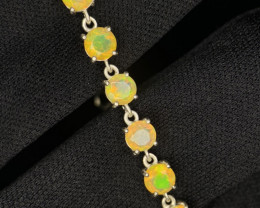 ~NR~Excellent Opal Silver 925 Bracelets