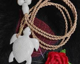 Maori Turtle Necklace Surfer, Beachcomber, Tribal Pendant