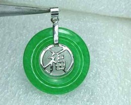 Lovely Natural Jade Stone Pendant SC49