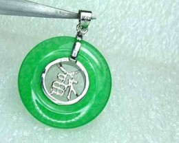 Lovely Natural Jade Stone Pendant SC55
