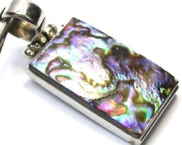 PAUA  PENDANT DIRECT FROM FACTORY  41.50 CTS [SJ1211]