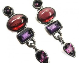 EARRING GEMSTONES-DIRECT FROM FACTORY 19.05 CTS [SJR13]