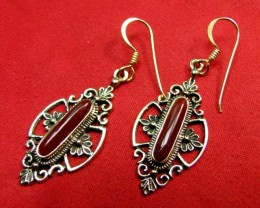 Pewter Brass Earrings
