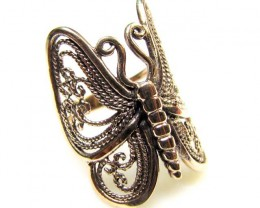 BRONZE BUTTERFLY RING RT 371