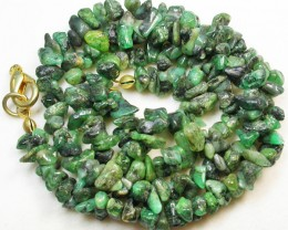 119.35 CTS EMERALD NECKLACE  WITH CLIP [SJ2020]