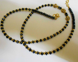 Cryatal Beaded CHAIN Design NEW Women  Necklace 4.5 mm