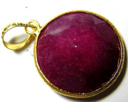 RUBY  PENDANT 41.5 CTS AS-A5224