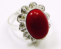 Designer CARNELIAN &. Silver Rings Of UK Size: Q & US: 8 ,NR