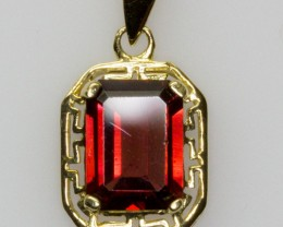 New Hand Crafted Natural Australian Garnet Pendant