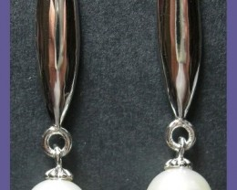 SUPERB 'DYNASTY' FRESHWATER PEARL EARRINGS - S/S POSTS